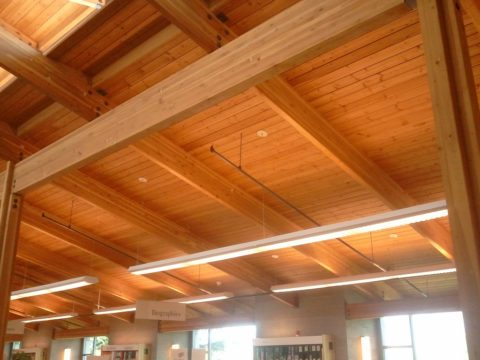Installing wood ceiling panels is not as difficult as you might think
