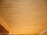 How to Install a Wood Paneled Ceiling