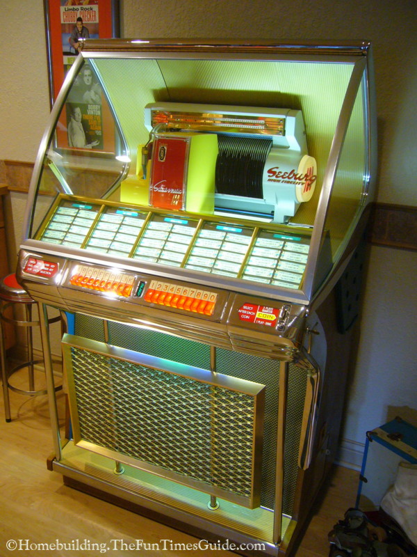 Classic Seeburg Jukebox Adds Nostalgia To Rec Rooms