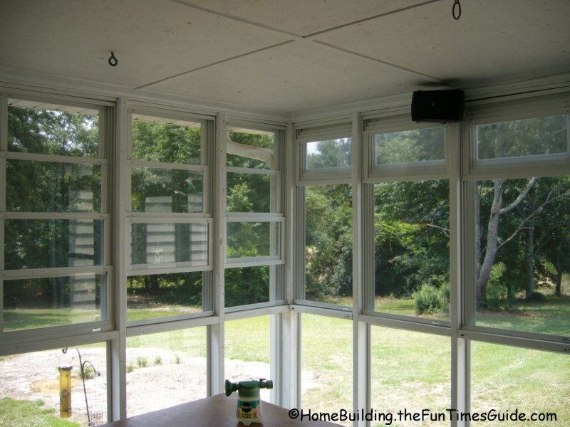 Eze Breeze Vinyl Screened Porch Windows A Clear