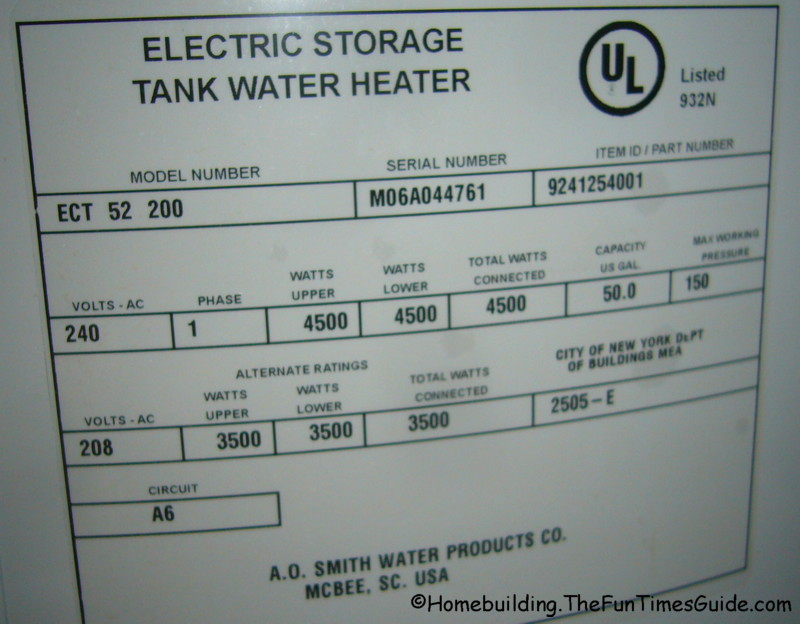 Water Volume Requirements For Residential Custom Shower