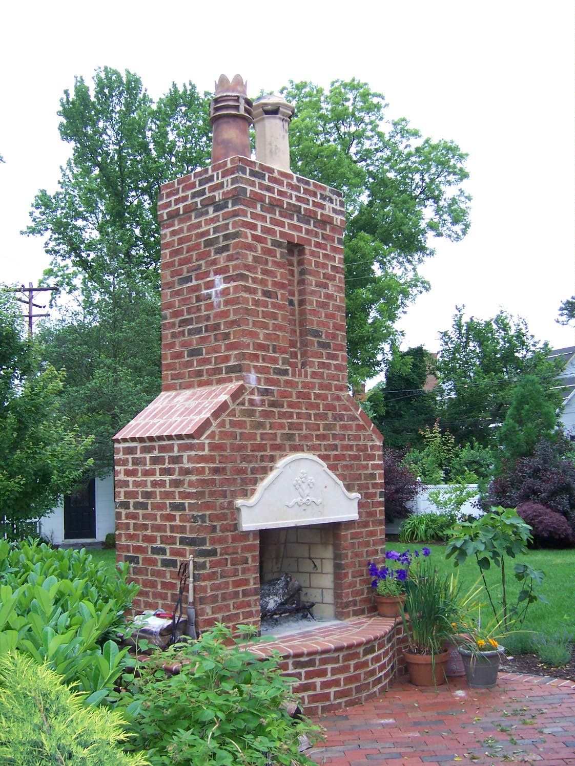 chimney pots cap off your home in grand style the homebuilding