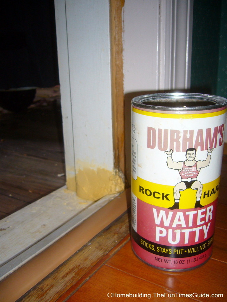 everybody needs a li l water putty in their life the homebuilding