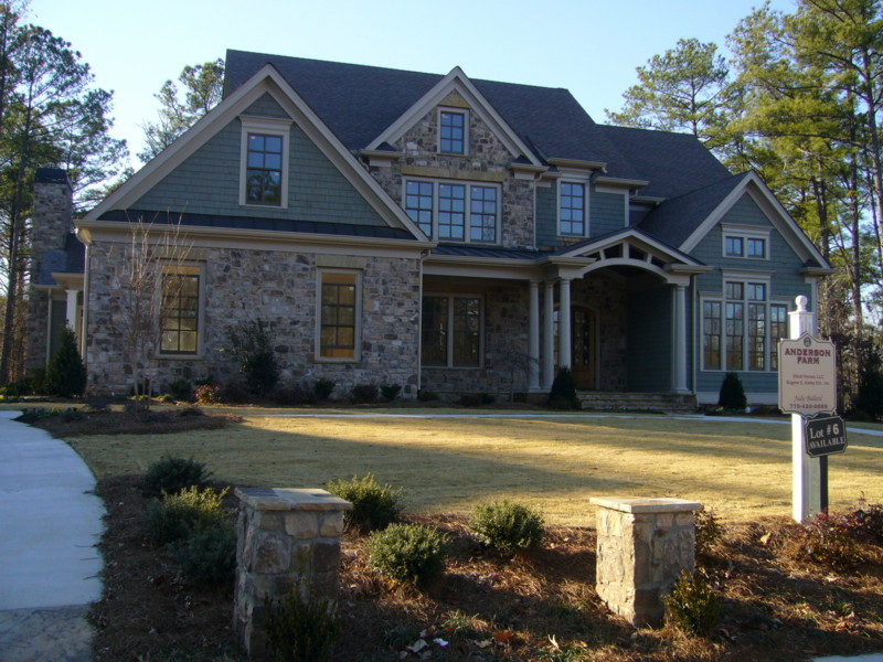 European style home in the park at anderson farm the for European style home builders