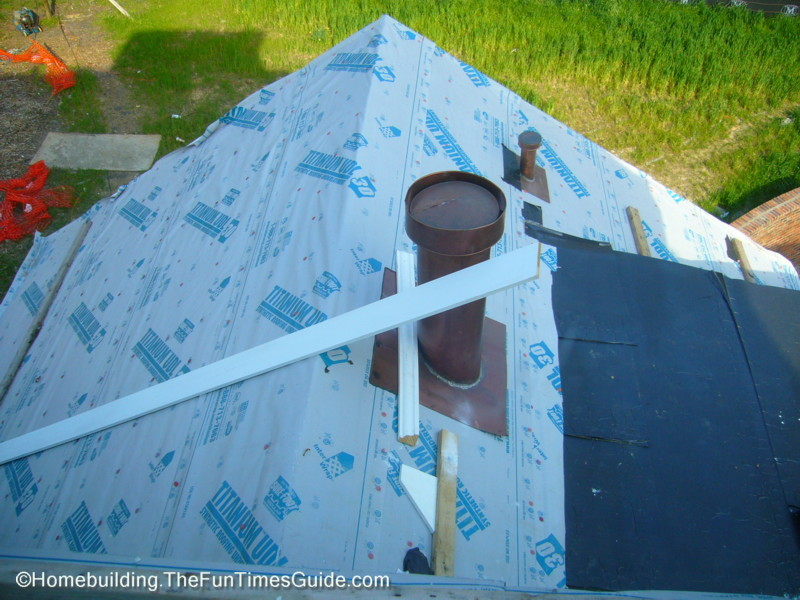 Roof Underlayment Installation : A victorian slate roofing installation the homebuilding