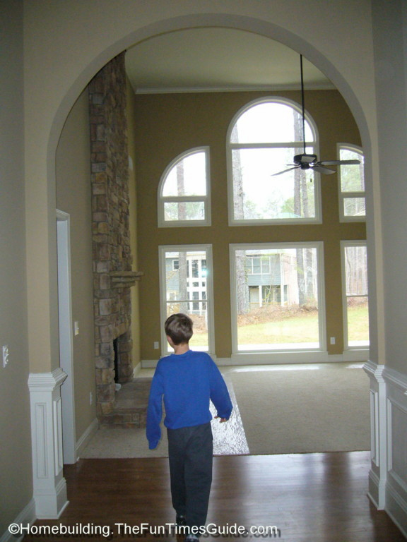 Two Story Window Walls The Big Picture The Homebuilding