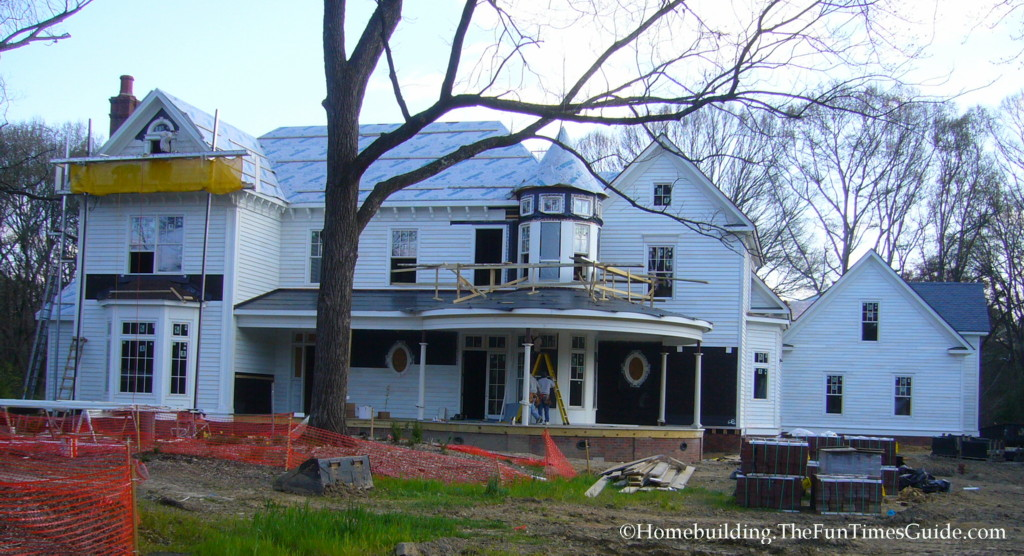 Creating a victorian queen anne the homebuilding remodel for Custom victorian homes
