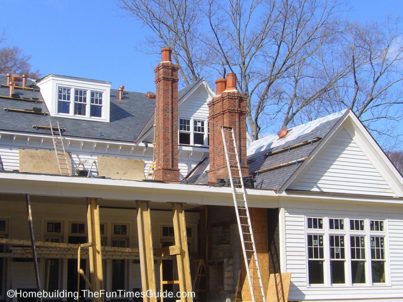 Victorian Style Chimney and Chimney Pots | The Homebuilding ...