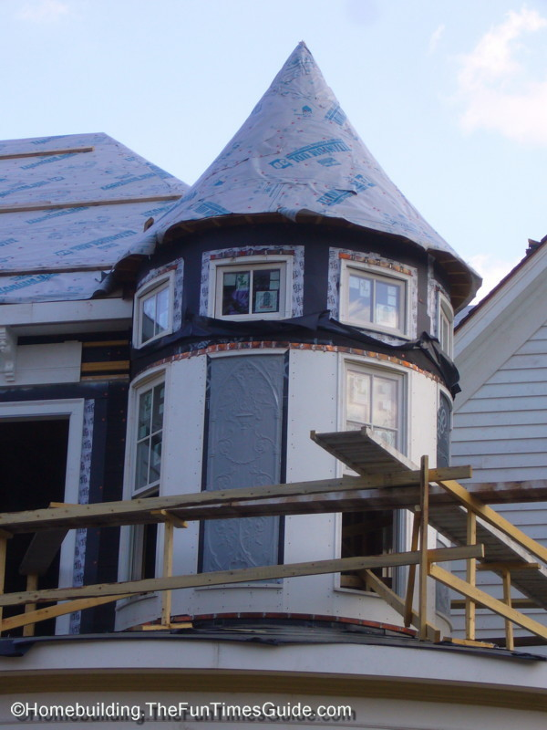 Its Not A Victorian Home Without A Turret Tower The - How-to-paint-a-victorian-style-home