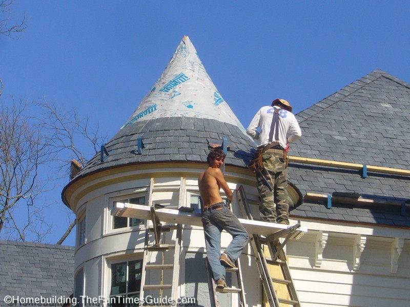 It S Not A Victorian Home Without A Turret Tower Fun