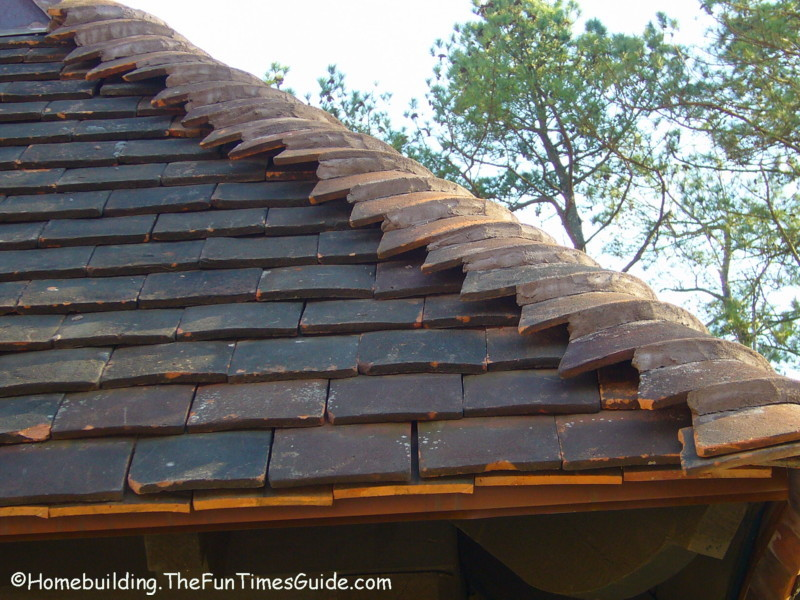 Cast Limestone Mantels and Terra Cotta Roof Tiles = Quality : The Homebuilding/Remodel Guide