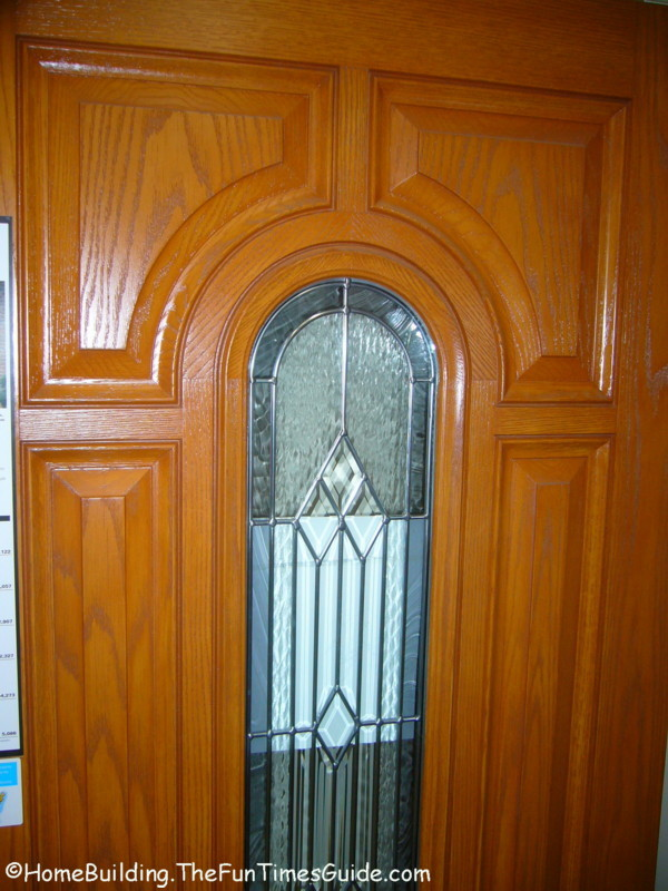 Which Is A Better Front Entry Door Choiceberglass Or Natural