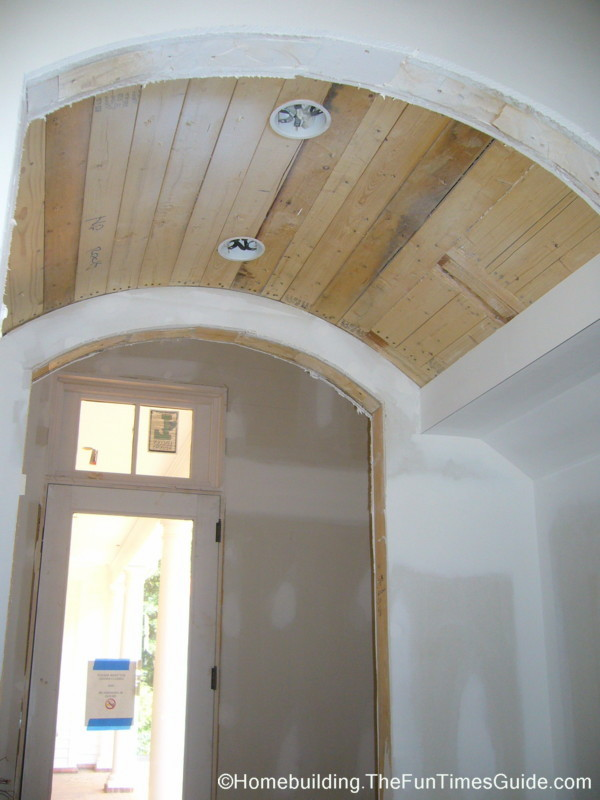 Two Distinctive Barrel Vaulted Ceilings The Homebuilding