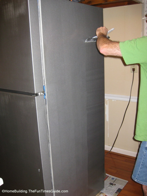 Stainless Steel Coatings : How to give your old appliances a sharp new look using