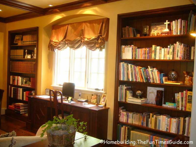 built in bookshelves add a quality touch to custom homes a photo