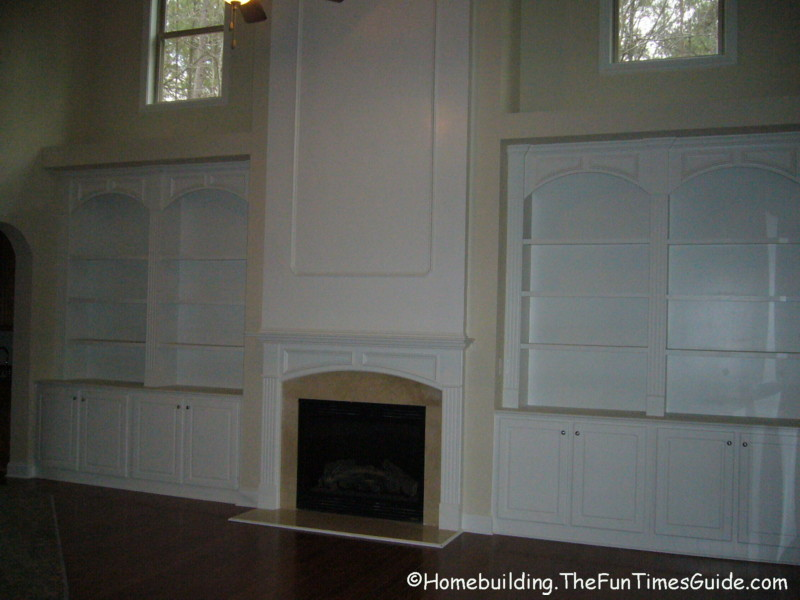 Built-In Bookshelves Add A Quality Touch To Custom Homes: A Photo Gallery | The Homebuilding ...