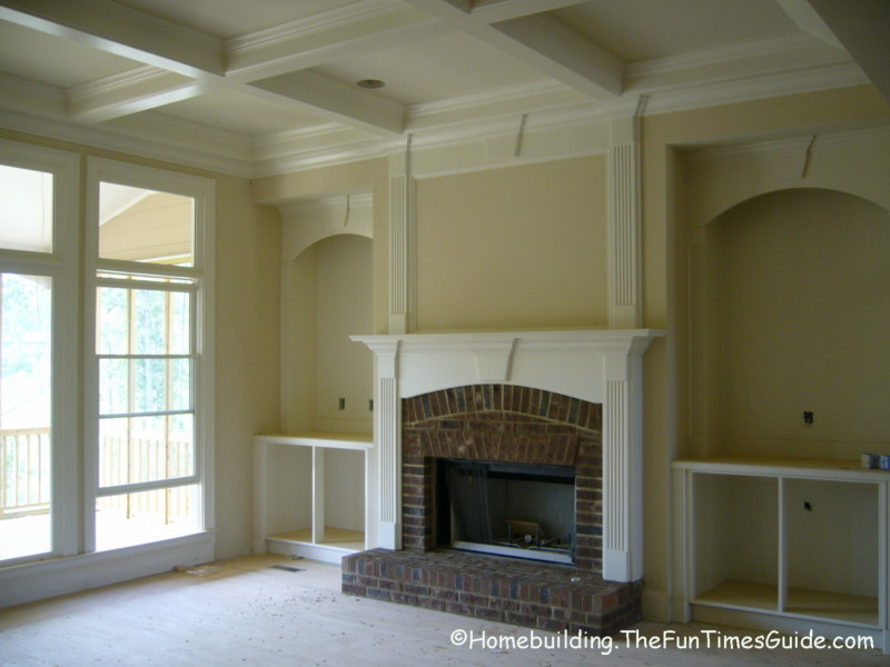 Built In Bookshelves Add A Quality Touch To Custom Homes A Photo Gallery The Homebuilding