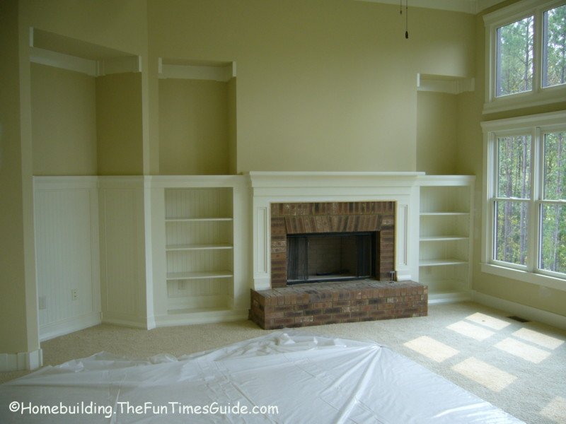 Pdf diy fireplace bookshelf plans download fireplace for Homebuilding com