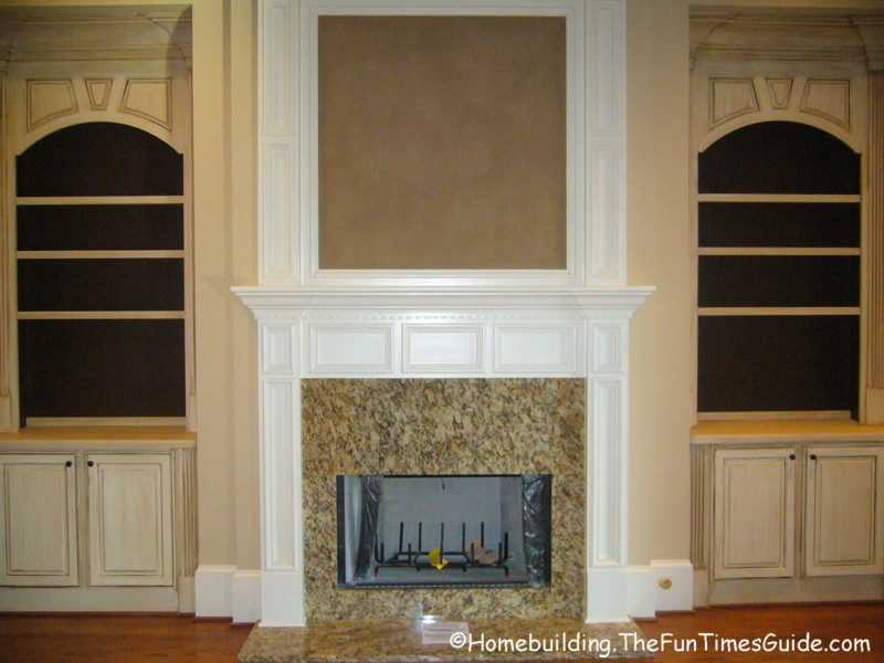 built in bookshelves add a quality touch to custom homes fun times guide to home building. Black Bedroom Furniture Sets. Home Design Ideas