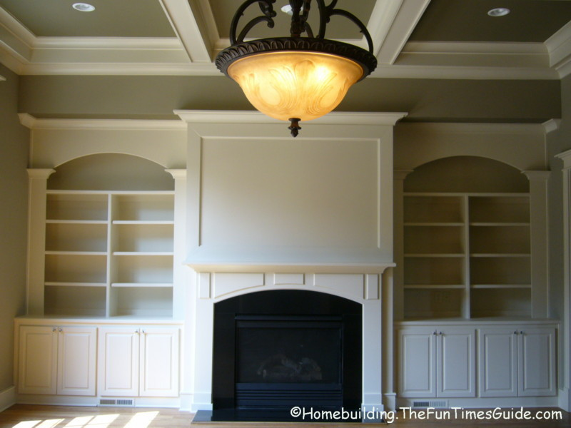Built-In Bookshelves Add A Quality Touch To Custom Homes ...