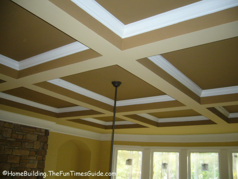 ceiling styles ideas 2017 grasscloth wallpaper ForCoffered Ceiling Styles