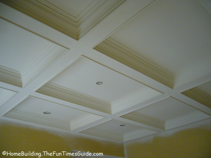 Considering Coffered Ceilings In Your Home Heres A
