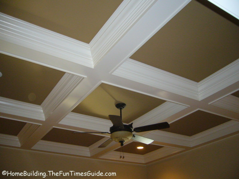 Consider coffered ceilings in your next home or remodel for Homebuilding com