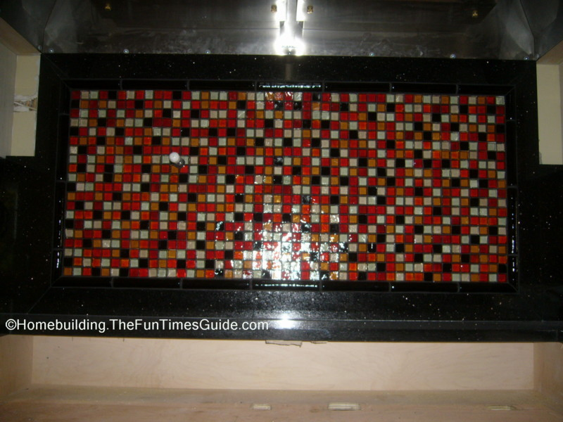 Custom Made Glass Tile Backsplash Jpg