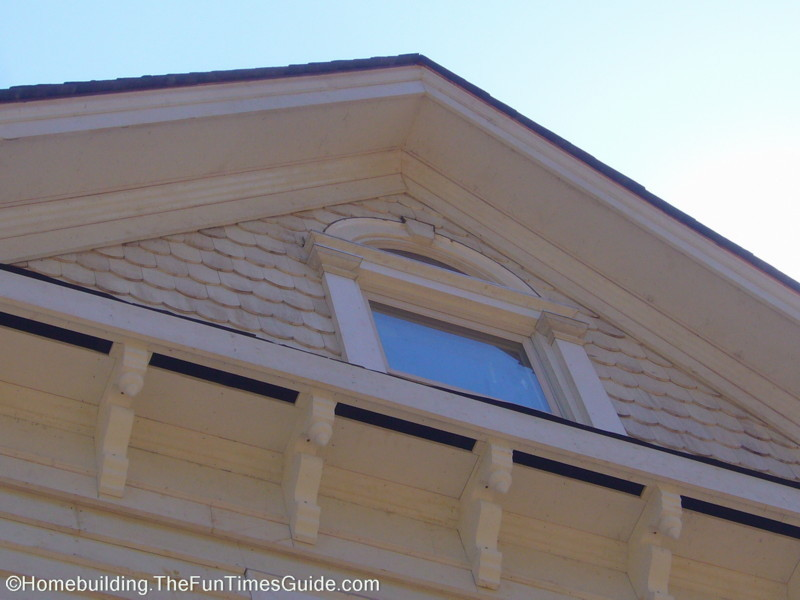 Fish scale shingle siding holds true to victorian for Fish scale shingles