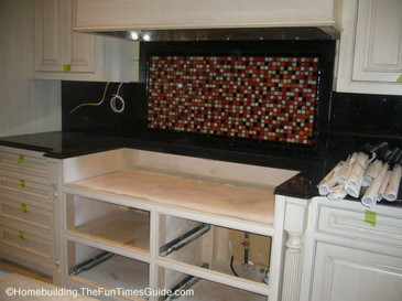 A Fantastic Glass Tile Backsplash Idea Plus Tips On DIY Installation The H