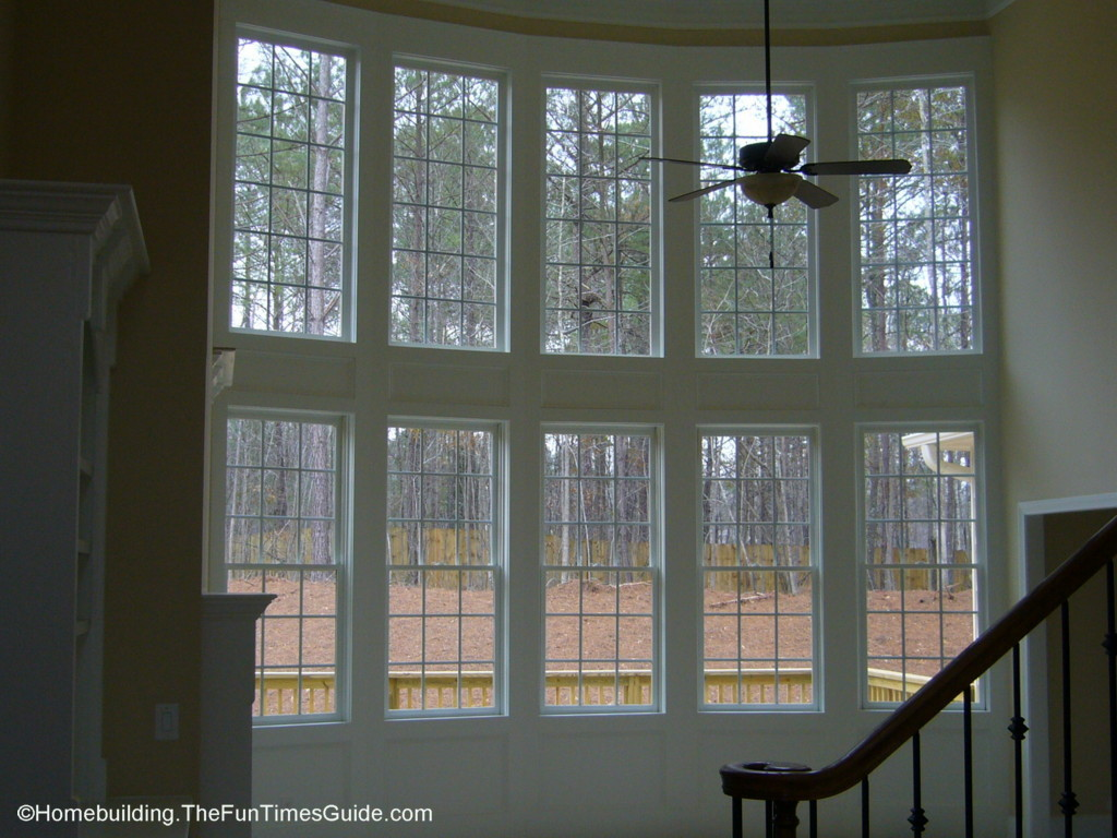 Two story window walls the big picture the homebuilding for Window wall