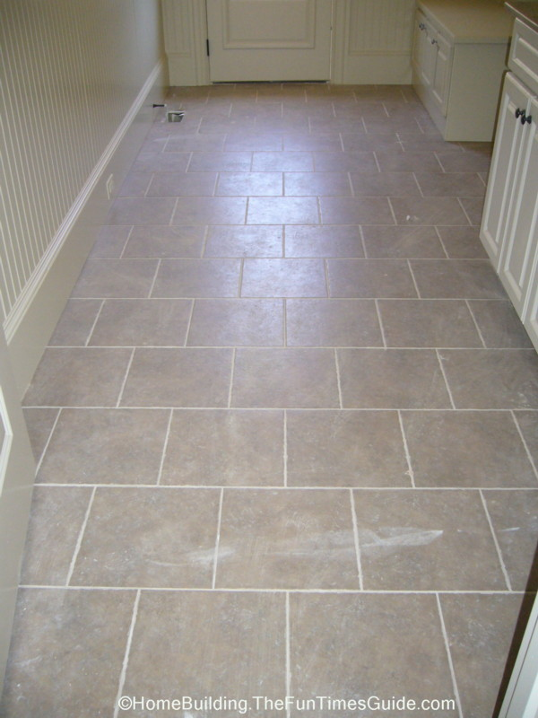 Laundry Room flooring idea : Benchmark, Northcrest via Mannington ... - Laundry Room Floor Ideas