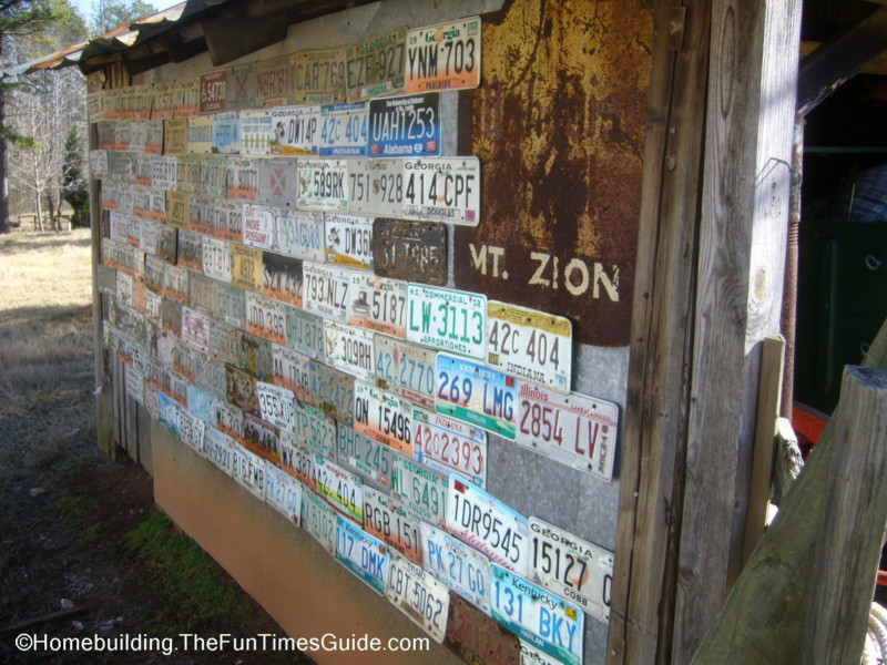 What Do You Do With Your Old License Plate? | The Homebuilding ...