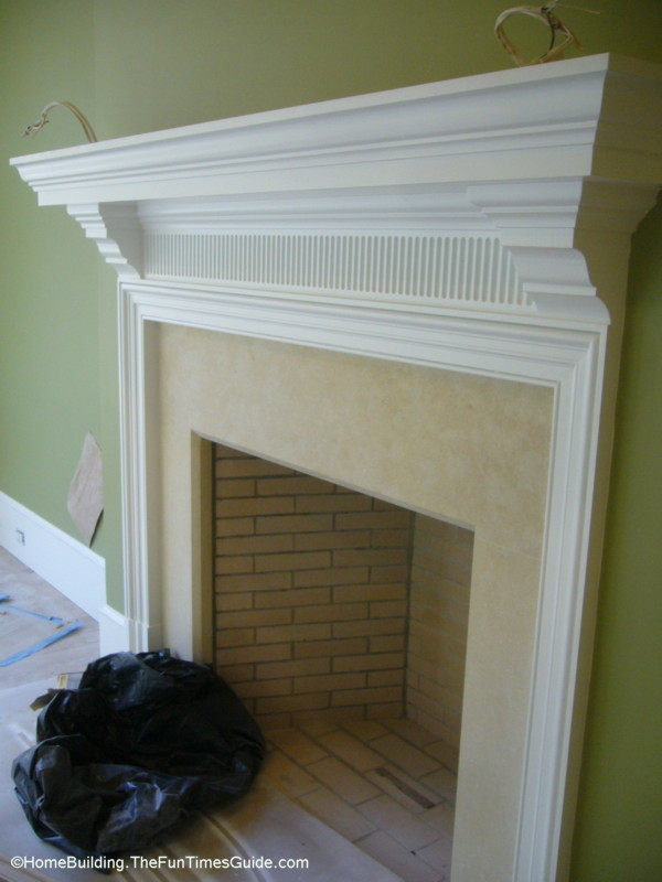 photos of 6 custom fireplace surrounds and mantels that