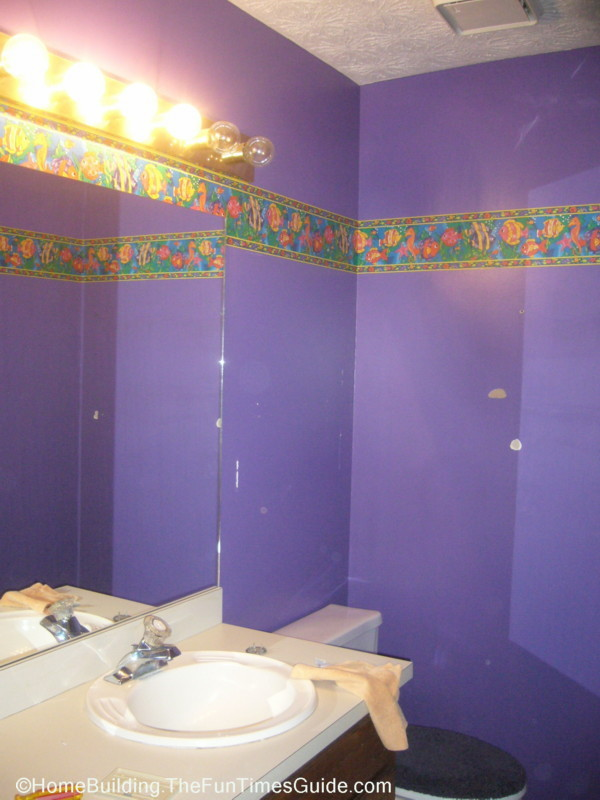 Reclamation Of A Kid Bathroom: DIY Painting For The Soul | The Fun ...