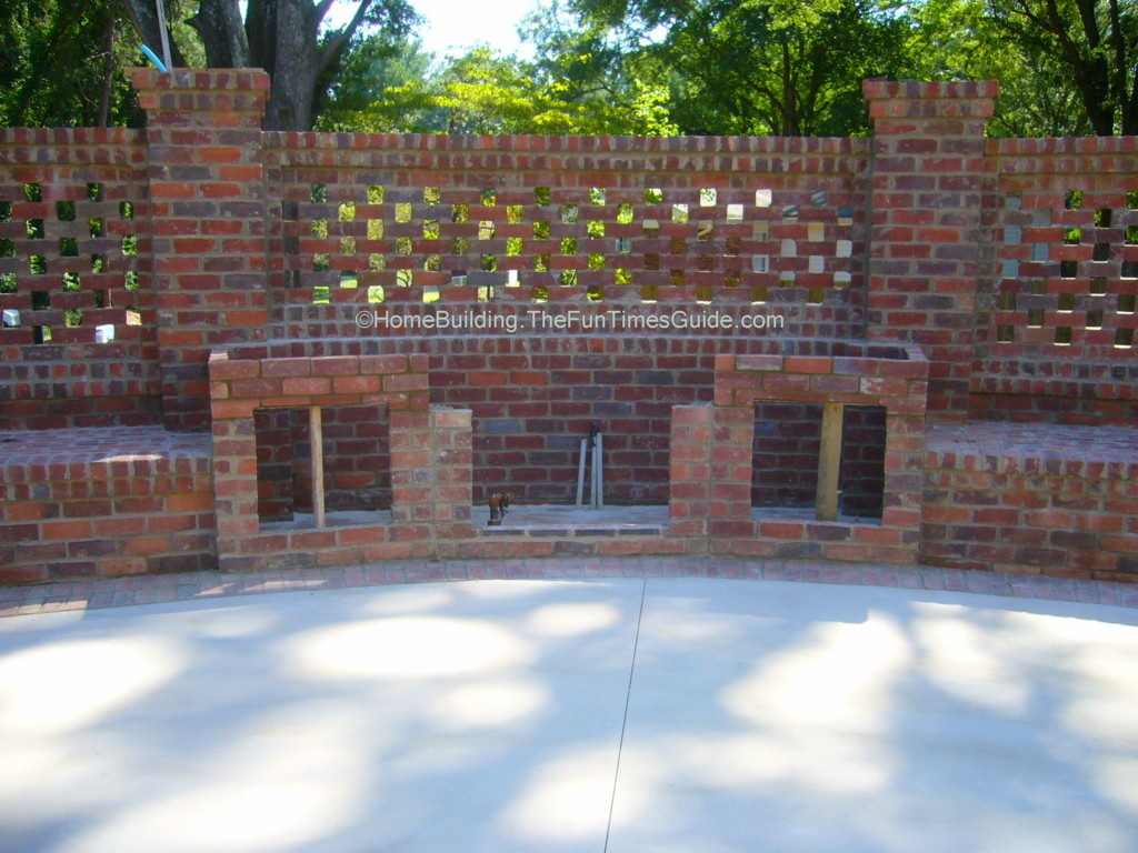 Pierced Brick Walls A Classic Screen Alternative The