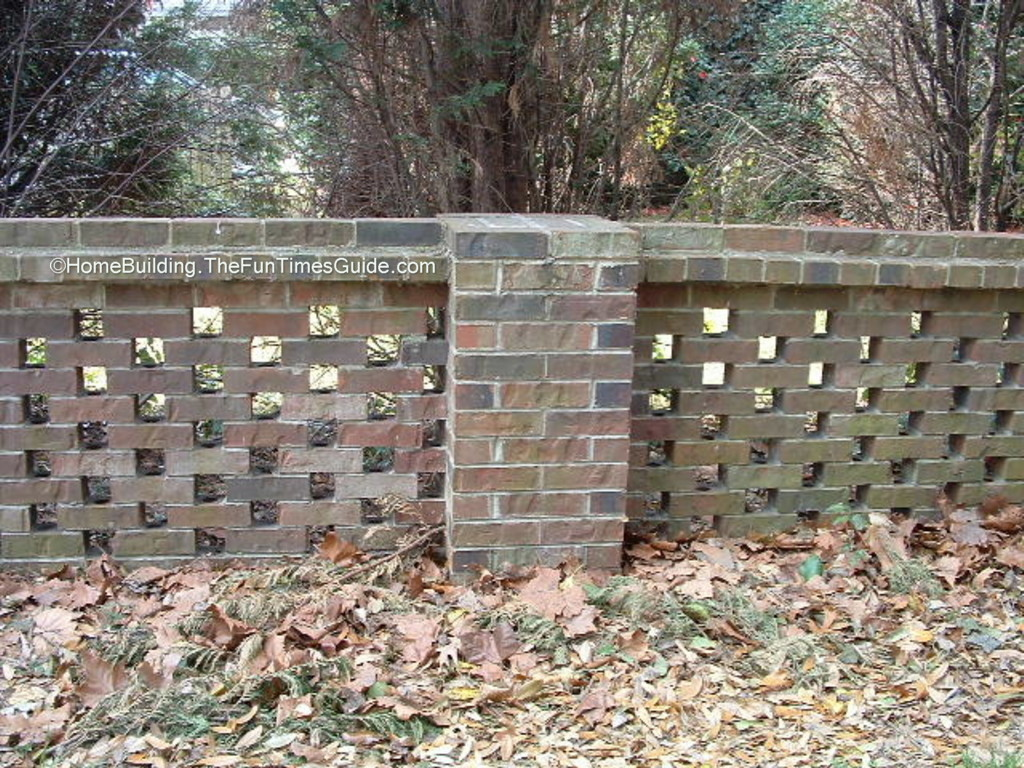 Alt Build Blog Fence And Wall Ideas: Pierced Brick Walls: A Classic Screen Alternative