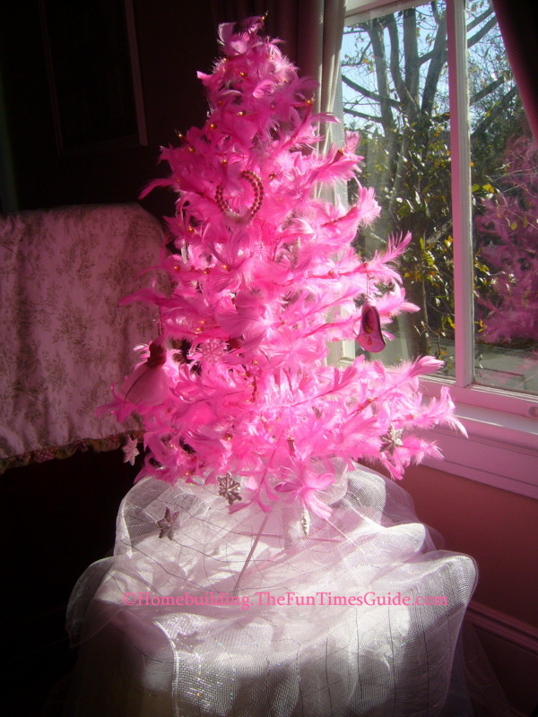 Take A Walk Back In Time On The Marietta Pilgrimage Christmas Tour  - Pink Feather Christmas Tree