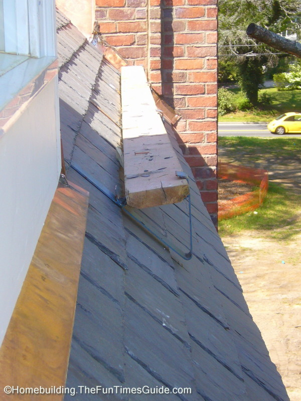 A Victorian Slate Roofing Installation The Homebuilding