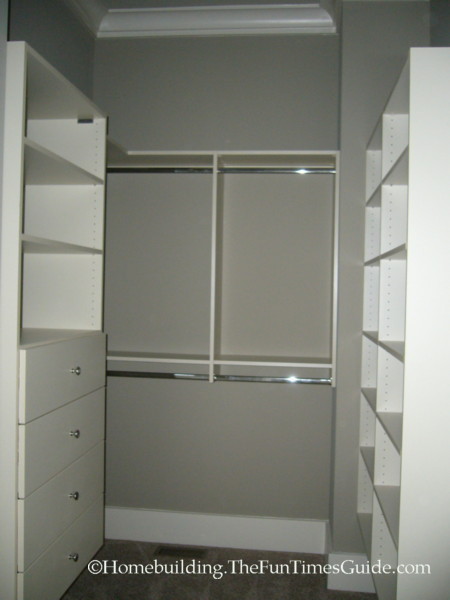 A Custom His Amp Her Walk In Closet With Dressing Area Fun Times Guide To Home Building Remodeling