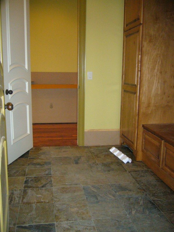 The makings of a mudroom the homebuilding remodel guide for Mudroom floor ideas