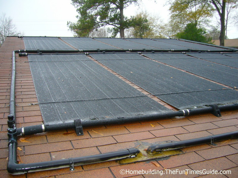 Get to know solar pool heaters the homebuilding remodel guide for Solar heaters for swimming pools