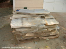 A flagstone walkway is beautiful and not difficult to install