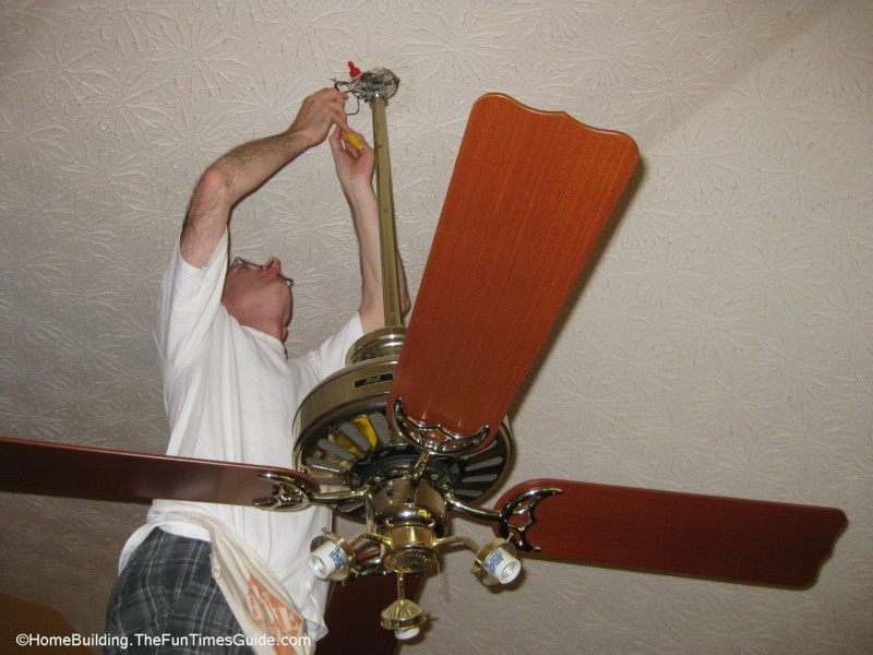How To Choose And Install A Ceiling Fan The Homebuilding