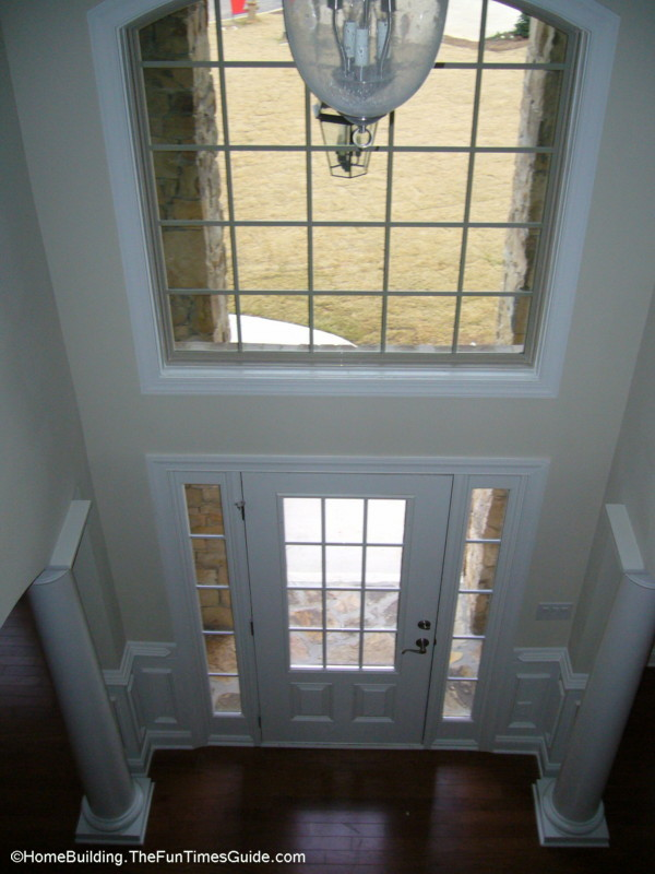 House Foyer Window : Double hung foyer windows make no sense at all fun times