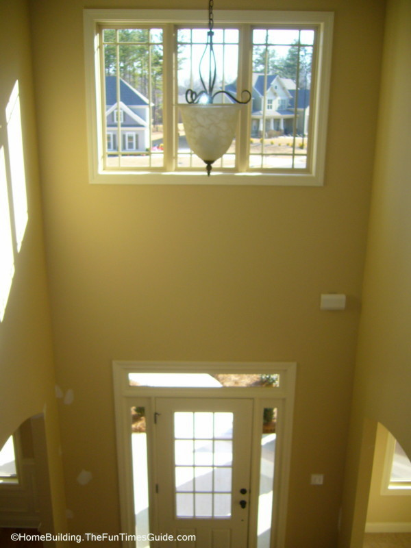 Foyer Window Quest : Double hung foyer windows air vents in closets make no