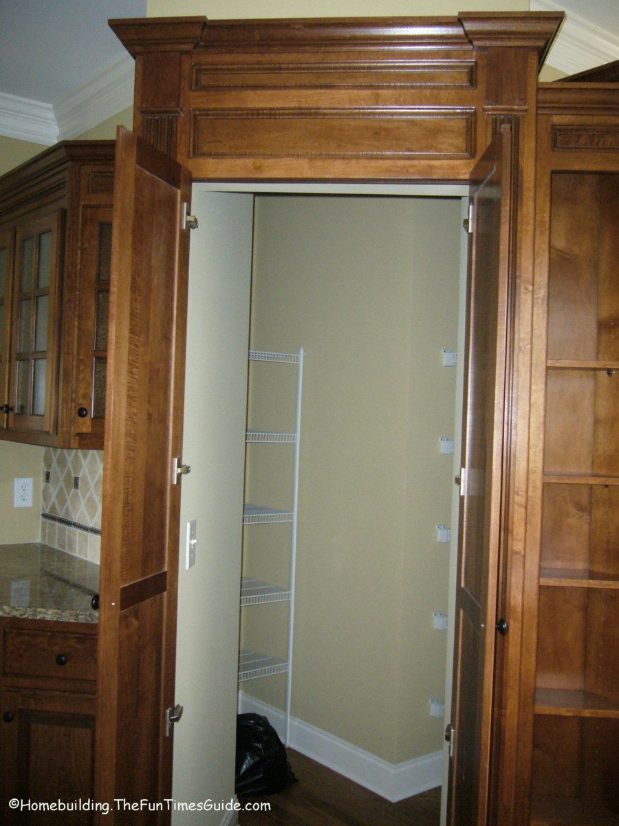 Ideas For Hidden Walk In Pantries An Affordable Luxury